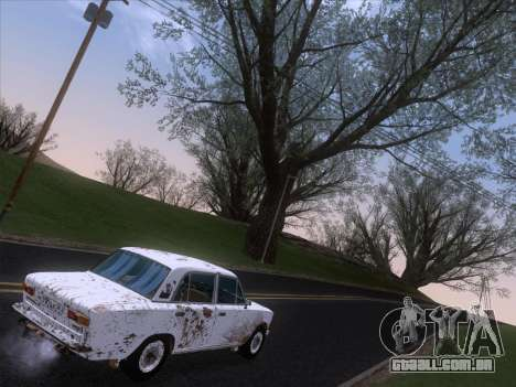 VAZ 21011 Cottage para GTA San Andreas interior