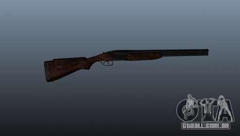Espingarda de cano duplo ТОЗ-34 para GTA 4 terceira tela
