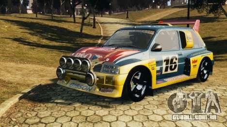 MG Metro 6r4 para GTA 4