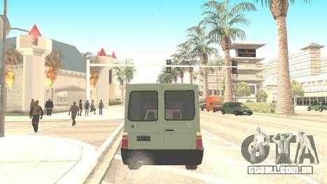 Fiat Fiorino Fire 07 para GTA San Andreas esquerda vista