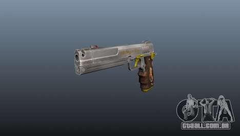 Pistola de marfim para GTA 4