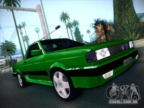 Volkswagen Saveiro 1994 para GTA San Andreas vista traseira