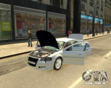 GAZ Volga Sajber para GTA 4 traseira esquerda vista
