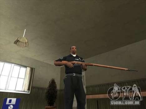 Armas de Pak domésticos para GTA San Andreas por diante tela