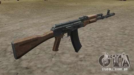 Estoque de AK-74 para GTA 4 segundo screenshot