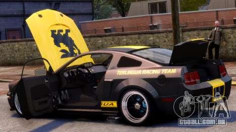 Shelby Terlingua Mustang para GTA 4 vista superior