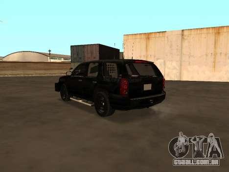 GMC Yukon ATTF para GTA San Andreas vista direita