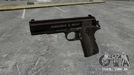 Colt M1911 pistola v1 para GTA 4 terceira tela