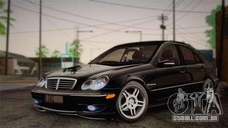 Mercedes-Benz C32 AMG 2004 para GTA San Andreas