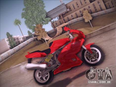 Ducati Supersport 1000 DS para GTA San Andreas esquerda vista