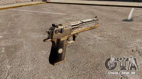 Pistola de águia do deserto de luxo para GTA 4 segundo screenshot
