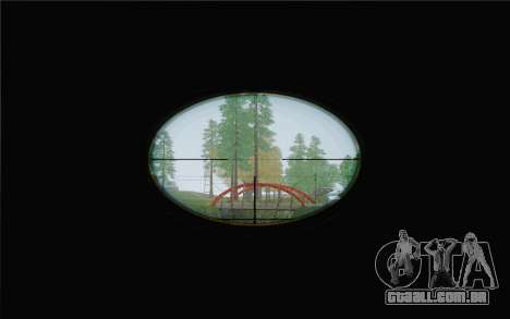 Enhanced Sniper Scope v1.1 para GTA San Andreas