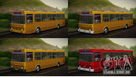 LIAZ 5256.00 pele-Pack 5 para GTA San Andreas