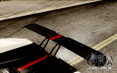 Pagani Zonda Cinque para GTA San Andreas interior