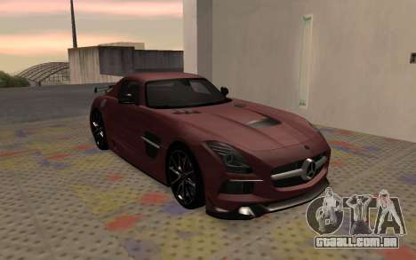 Mercedes-Benz SLS AMG 2013 Black Series para GTA San Andreas