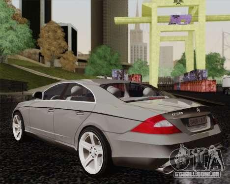 Mercedes-Benz CLS500 para GTA San Andreas esquerda vista