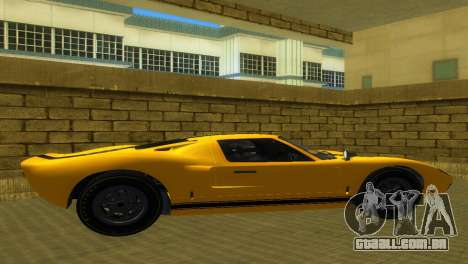 Ford GT40 MkI 1965 para GTA Vice City vista traseira