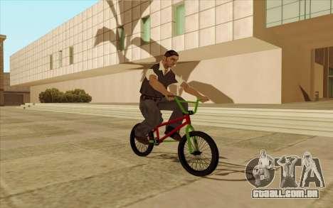 BMX para o motor de GTA San Andreas