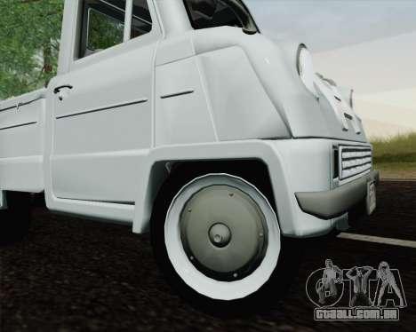 Honda T 360 para GTA San Andreas vista traseira