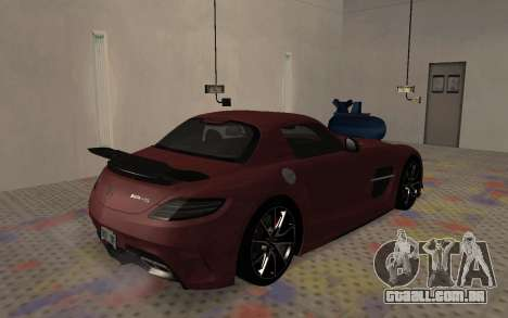 Mercedes-Benz SLS AMG 2013 Black Series para GTA San Andreas vista direita