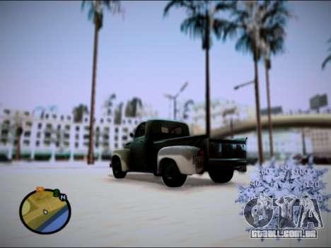 Ford Frieghter 1949 para GTA San Andreas esquerda vista
