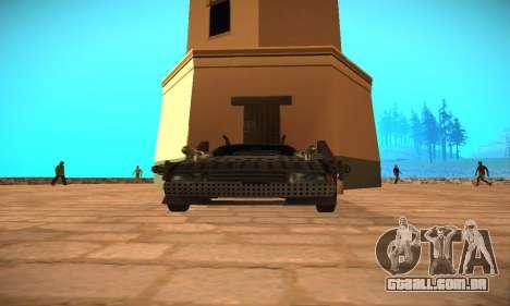Cheetah Zomby Apocalypse para GTA San Andreas vista direita