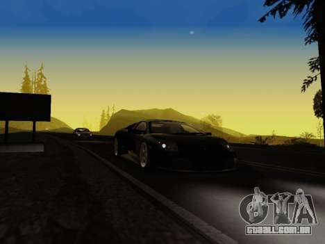 SA_RaptorX v 1.0 para PC fraco para GTA San Andreas nono tela