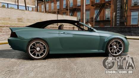 GTA V Zion XS Cabrio para GTA 4 esquerda vista