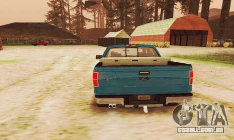 Ford F150 XLT Supercrew Trim para vista lateral GTA San Andreas