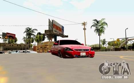 2170 de Lada Priora Suite para o motor de GTA San Andreas