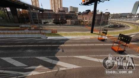 Street Race Track para GTA 4 por diante tela