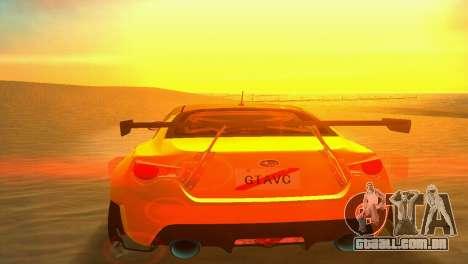 Sun effects para GTA Vice City segunda tela