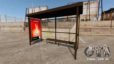 Novos cartazes de publicidade nas paragens de au para GTA 4 por diante tela