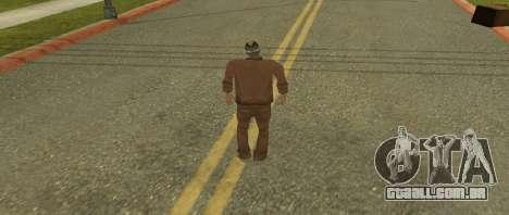 Kelly de pele do GTA Vice City Beta para GTA San Andreas segunda tela