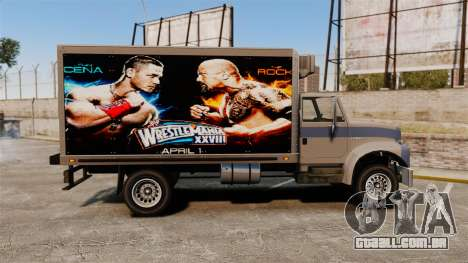 Estrelas do wrestling no Yankee para GTA 4 vista de volta