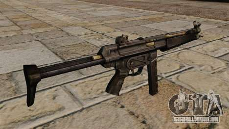 Pistola-metralhadora MP5 para GTA 4 segundo screenshot