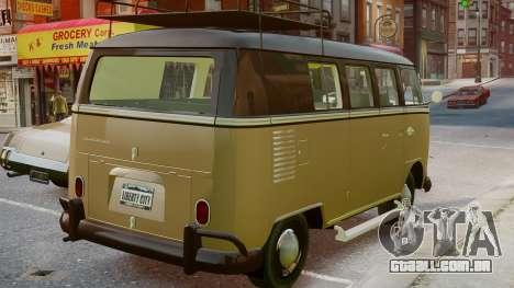 Volkswagen Transporter 1962 para GTA 4 esquerda vista