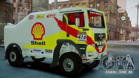 MAN TGA Dakar Truck Shell para GTA 4