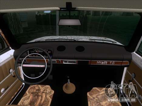 VAZ 21011 Cottage para vista lateral GTA San Andreas