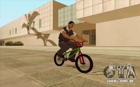 BMX para as rodas de GTA San Andreas