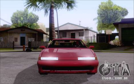 Uranus Fix para GTA San Andreas traseira esquerda vista