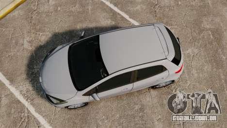 Mazda 2 para GTA 4 vista direita