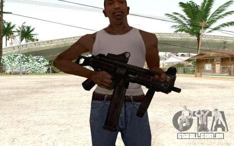 UMP 45 para GTA San Andreas segunda tela
