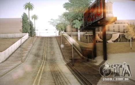 No traffic para GTA San Andreas terceira tela