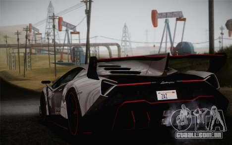 Lamborghini Veneno LP750-4 2013 para GTA San Andreas esquerda vista