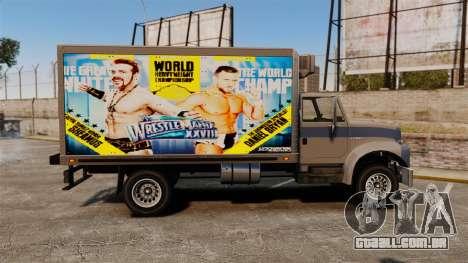 Estrelas do wrestling no Yankee para GTA 4 vista interior