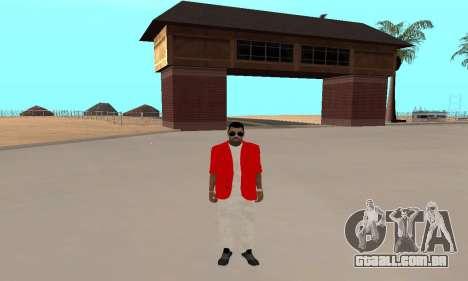 Kaney West para GTA San Andreas terceira tela