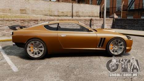 Super GT Ultra para GTA 4 esquerda vista