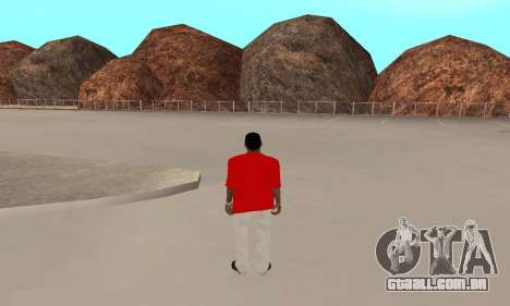 Kaney West para GTA San Andreas segunda tela