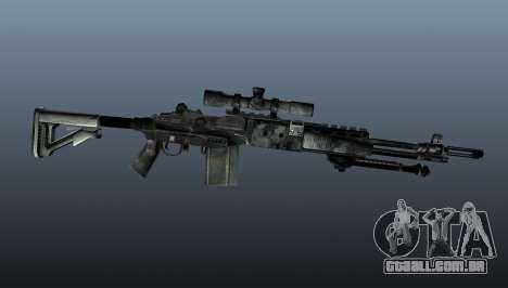 Rifle sniper M21 Mk14 v3 para GTA 4 terceira tela
